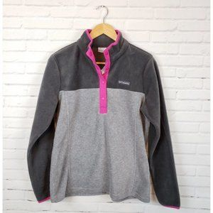 Columbia Half Snap Fleece Jacket Pullover
